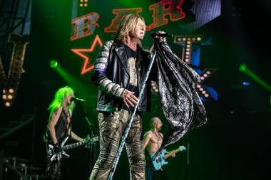 "There was little doubt Def Leppard's new engagement at Planet Hollywood's Zappos Theater would be successful. The British band, newly inducted into the Rock and Roll Hall of Fame, has been filling much larger venues in Las Vegas for tour stops in recent years and played another concert series, ""Viva Hysteria,"" at the Joint at the ..."