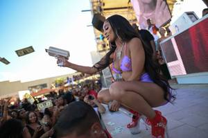 Saweetie at DAYLIGHT Beach Club
