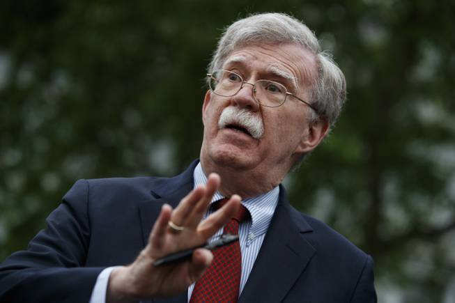 Bolton returns to Twitter after claim of White House freeze