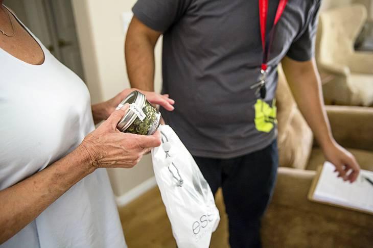 MedMen launches round-the-clock marijuana delivery service