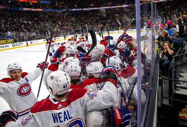 Blog: Golden Knights Drop Overtime Contest To Montreal