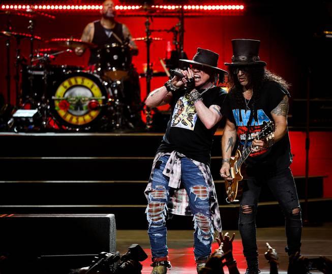 Guns N' Roses at The Colosseum