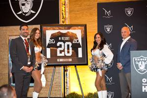 Raiders and M Resorts Partnership Announcement