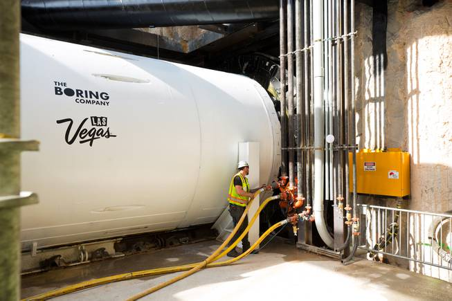 The Boring Company Begins Tunneling for Convention Center