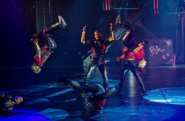 "If you're a fan of the other Cirque shows on the Strip, ""R.U.N"" will be a fascinating watch on several different levels."