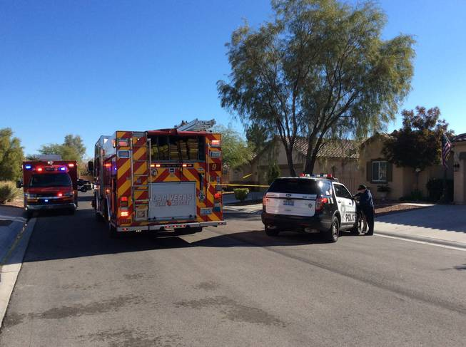 Woman's body found in Las Vegas house fire; police probing death