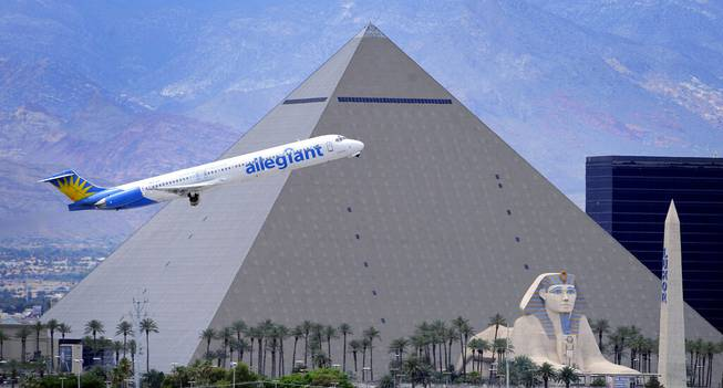 FAA taking comment on Las Vegas-area 'NextGen' flight path plans