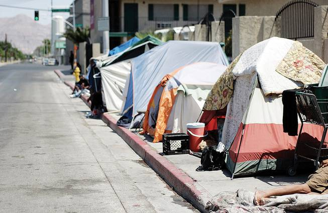 New ordinance strikes fear in homeless Las Vegas woman, who feels streets safer than shelters