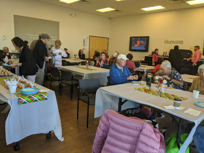 No Senior Eats Alone: Humana helps Las Vegas elderly forge friendships