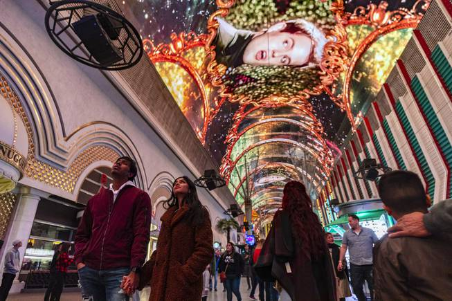 Fremont Street Experience Unveils New Canopy