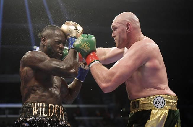 Fury Wilder Boxing