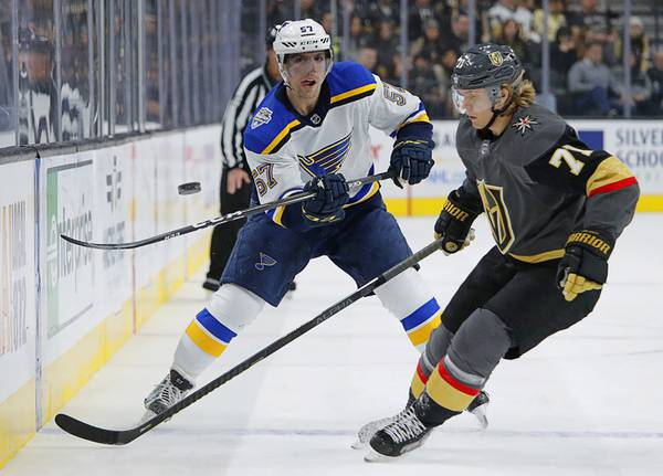 Live Blog: Golden Knights start homestand with test against Blues