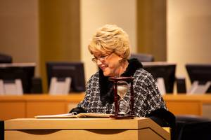 Las Vegas Mayor Carolyn Goodman delivers her State of the ...
