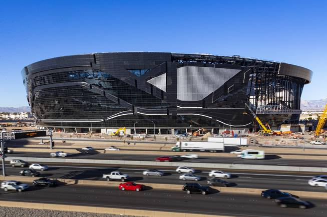 Officials Insist Allegiant Stadium Remains On Schedule Despite Roof Hiccup Las Vegas Sun Newspaper