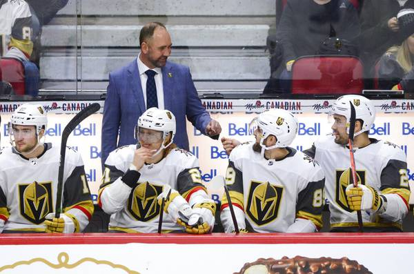 Can the Golden Knights' new coach take them where they want to go?