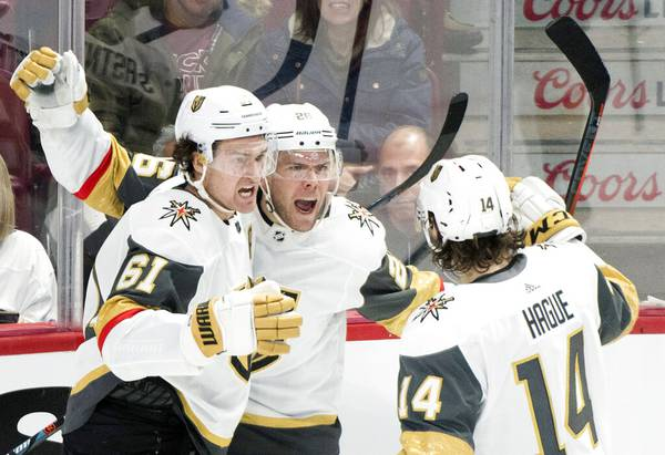 Golden Knights continue to surge after slow starts, even in loss to Canadiens