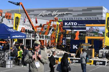 The coronavirus pandemic brought Las Vegas conventions to a jarring stop last year, but tourism officials hope trade shows gradually return in 2021. The World of Concrete is ...