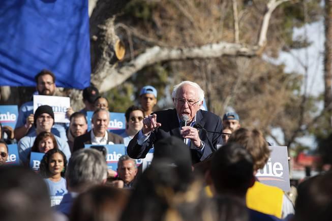 Bernie Sanders Early Vote Rally at UNLV