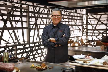 "Masaharu Morimoto, known for conquering ""Iron Chef"" and for his Japanese restaurant at MGM Grand, will launch the inaugural guest chef series ..."