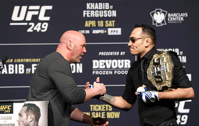 UFC 249 News Conference