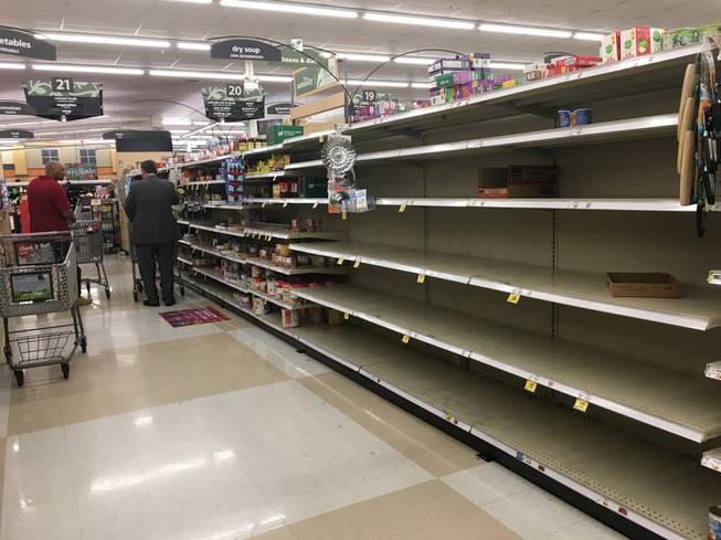 Metro to Las Vegans: Stop panic buying at grocery stores