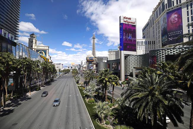 Strip Casinos Begin Temporary Closures