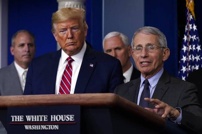 Trump vs. Fauci: President and doctor spar over unproven drug
