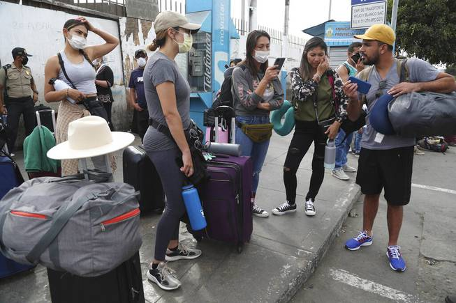 U.S. tourists stranded abroad don't know when they'll return