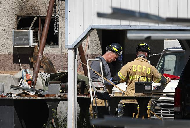 One person, dog, Found Dead in Structure Fire