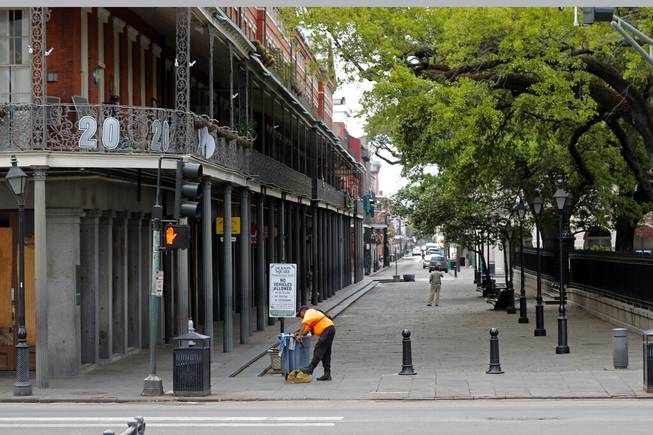 'The day the music died': Coronavirus tests New Orleans