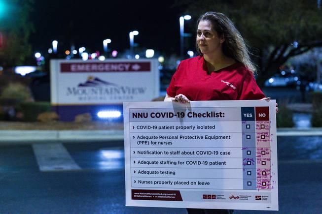 Nurses Protest Lack of COVID-19 Preparedness