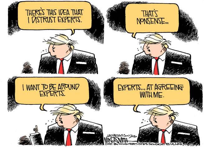 Donald Trump says,