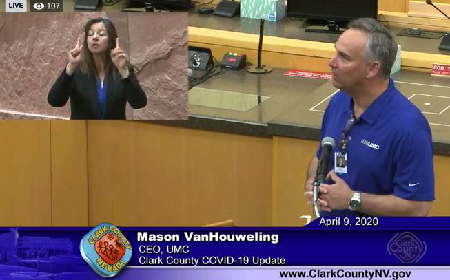 Southern Nevada Health District Meeting
