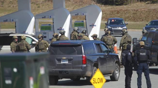 Mass shooting Canada