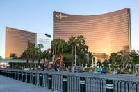 Wynn Las Vegas had its most lucrative slot revenue month ever in April, according to the company's CEO.