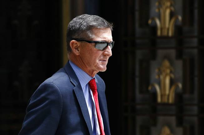Justice Department dropping Flynn's Trump-Russia case