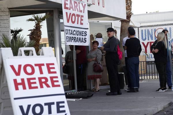Where To Vote Early In Las Vegas Las Vegas Sun News