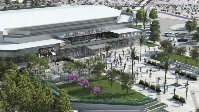 Renderings released of Henderson Event Center, future home of Silver Knights - Las Vegas Sun Newspaper