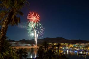 Fireworks Over Lake Las Vegas