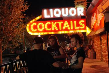 At midnight on Friday, bars across Las Vegas shut down for a second time in six months. With the coronavirus surging, the governor of Nevada had ordered it, and Las Vegas' oldest free-standing bar, Atomic Liquors, was no exception.