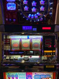 A guest playing high-limit slots on Saturday night at the Cosmopolitan in Las Vegas won $320,000 ...