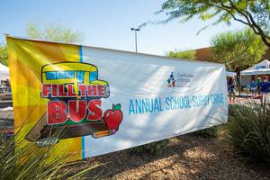 Communities in Schools hold their annual Fill The Bus school ...