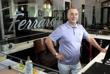 When Gino Ferraro opened Ferraro's Italian Restaurant & Wine Bar some 35 years ago, he worked grueling hours with little help to get the fledgling business off the ground. Now, after being forced to cut back on staff to make up for lost business from the coronavirus pandemic ...