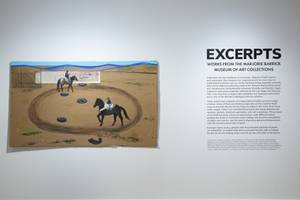 'Excerpts' Exhibit at Marjorie Barrick Museum of Art