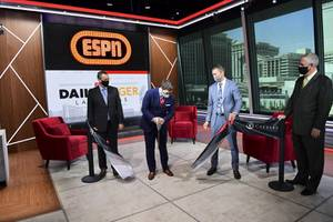 ESPN Las Vegas Studio Ribbon Cutting