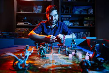 Adam Bishop, the owner of War Room Games on Sunset Road, said there has been demand for gamer products during the pandemic, including Dungeons and Dragons and two-player, kid-friendly board games.