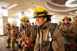 Las Vegas Firefighters Climb The Strat to Honor 9/11 Victims