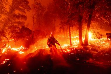 Historic fires are raging across the western United States ahead of what scientists say is the typical peak of wildfire season. Hurricane Laura devastated parts of the Gulf Coast last month ...