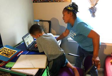 Missi Magness wanted her children back in school. The parent of a first-grader and a sixth-grader who attend schools on Indianapolis' southeast side struggled trying to oversee her children's schooling while working from home this spring.