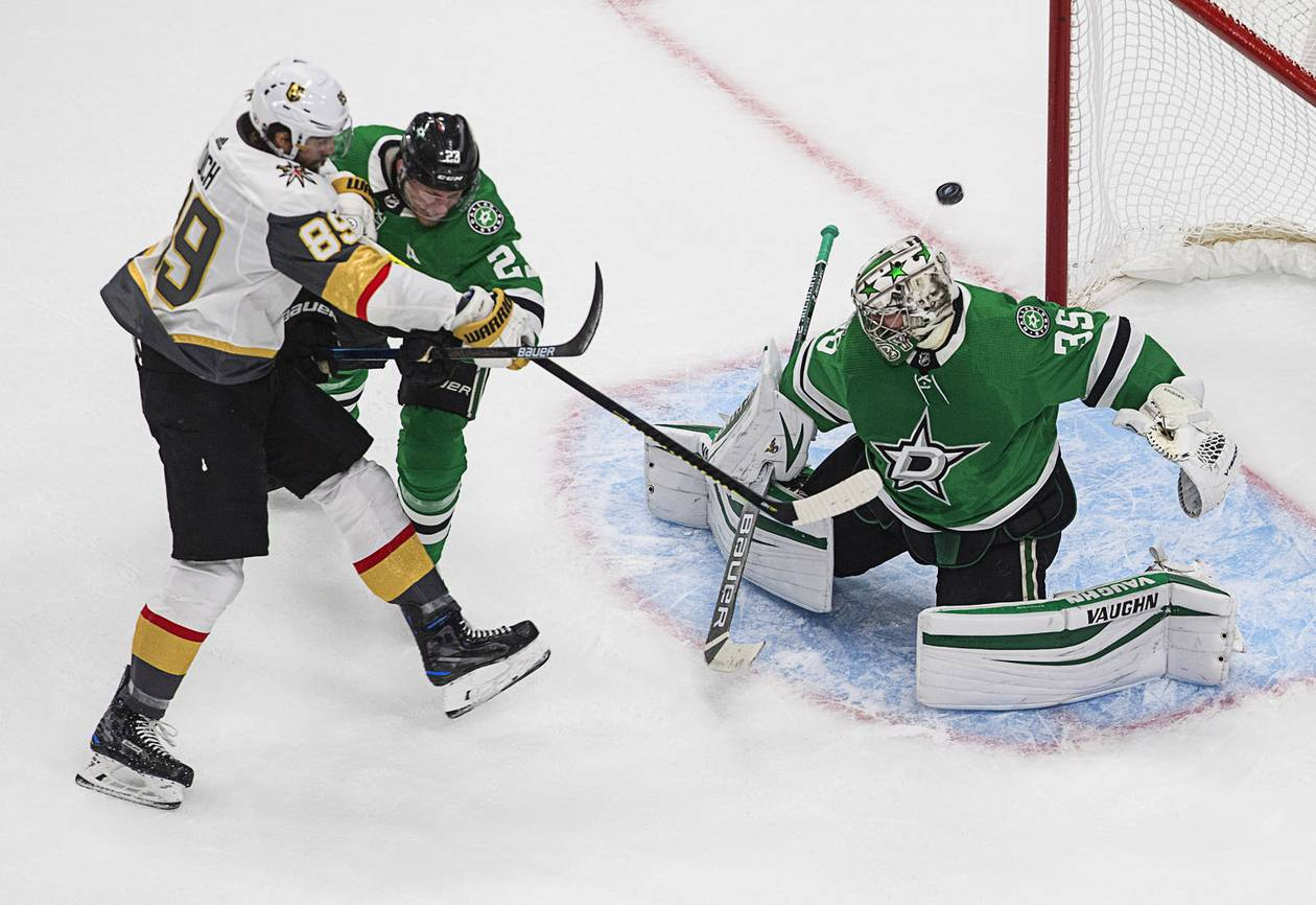 The Golden Knights are in trouble, down 3-1 to the Dallas Stars in the Western Conference Final.